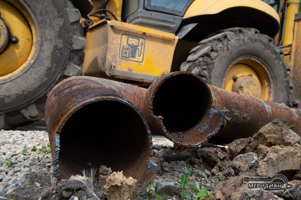 «Водный союз» продолжает ремонтную кампанию в Кургане