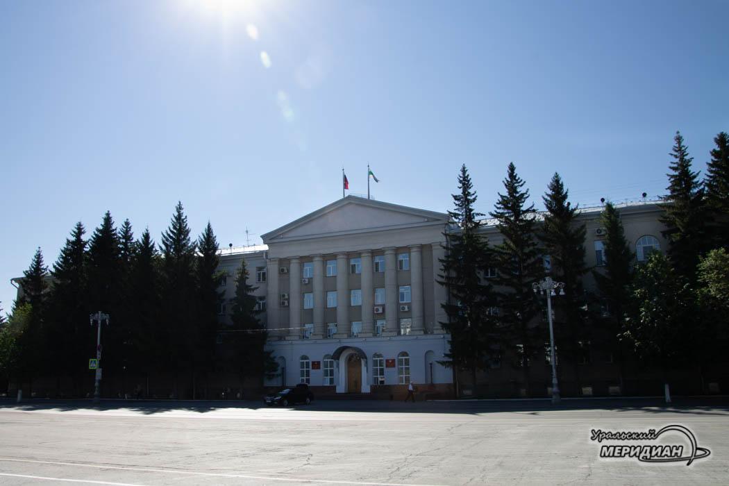 Здание Правительства и областной Думы Зауралья