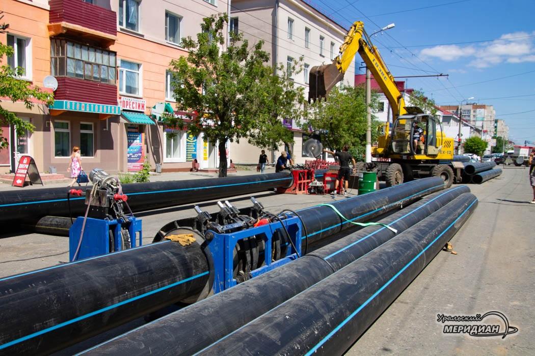 «Водный Союз» расстается с подрядчиком, работающим на ул.К.Мяготина