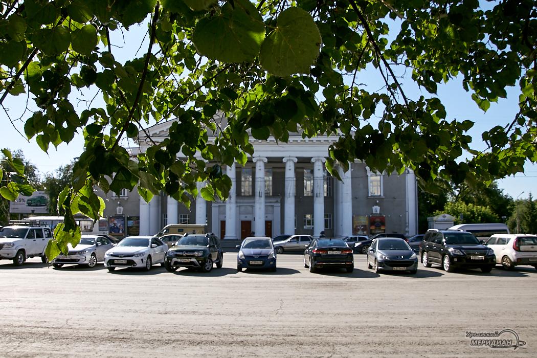 Вехи истории Курганского театра в фотографиях и документах