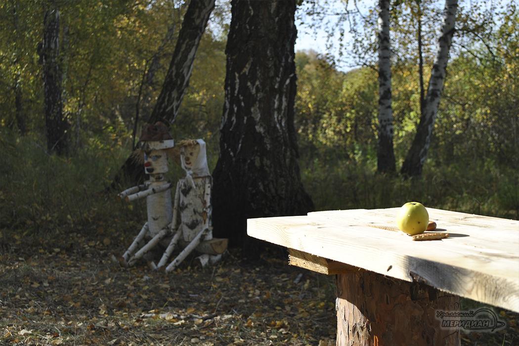 """Курганские """"экологи"""" наследили на экотропе (фото)"""