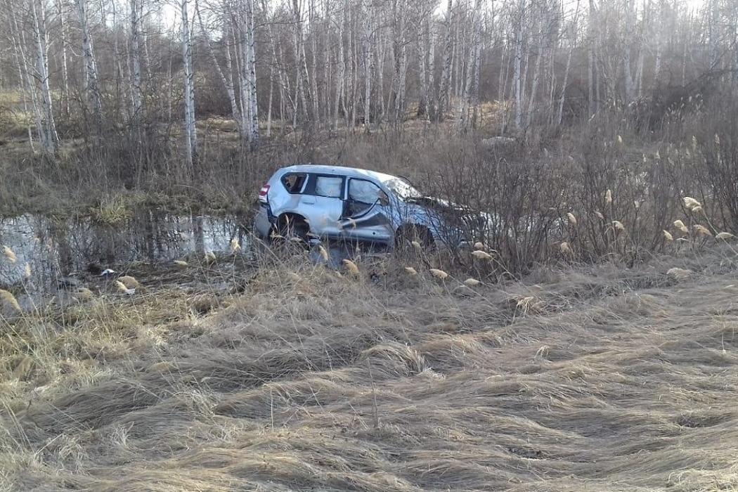 Авария в Альменевском районе