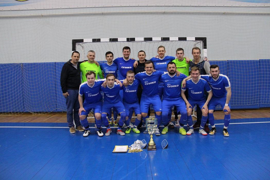 Футболисты СУЭНКО в Суперлиге чемпионата Тюмени по мини-футболу
