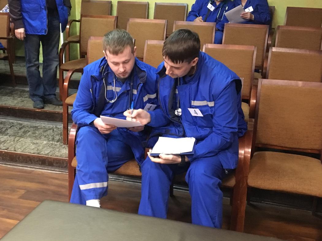 Лучшие фельдшеры работают на Тракторозаводской подстанции «скорой»