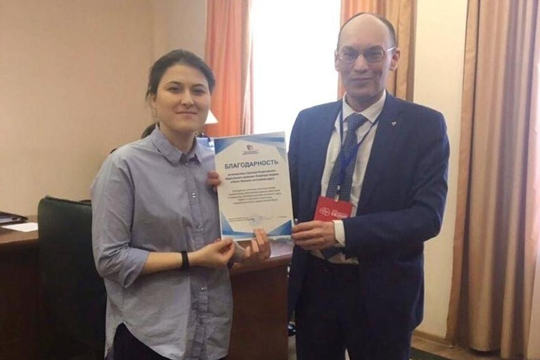 Айшат Нажмудинова и Сергей Токарев