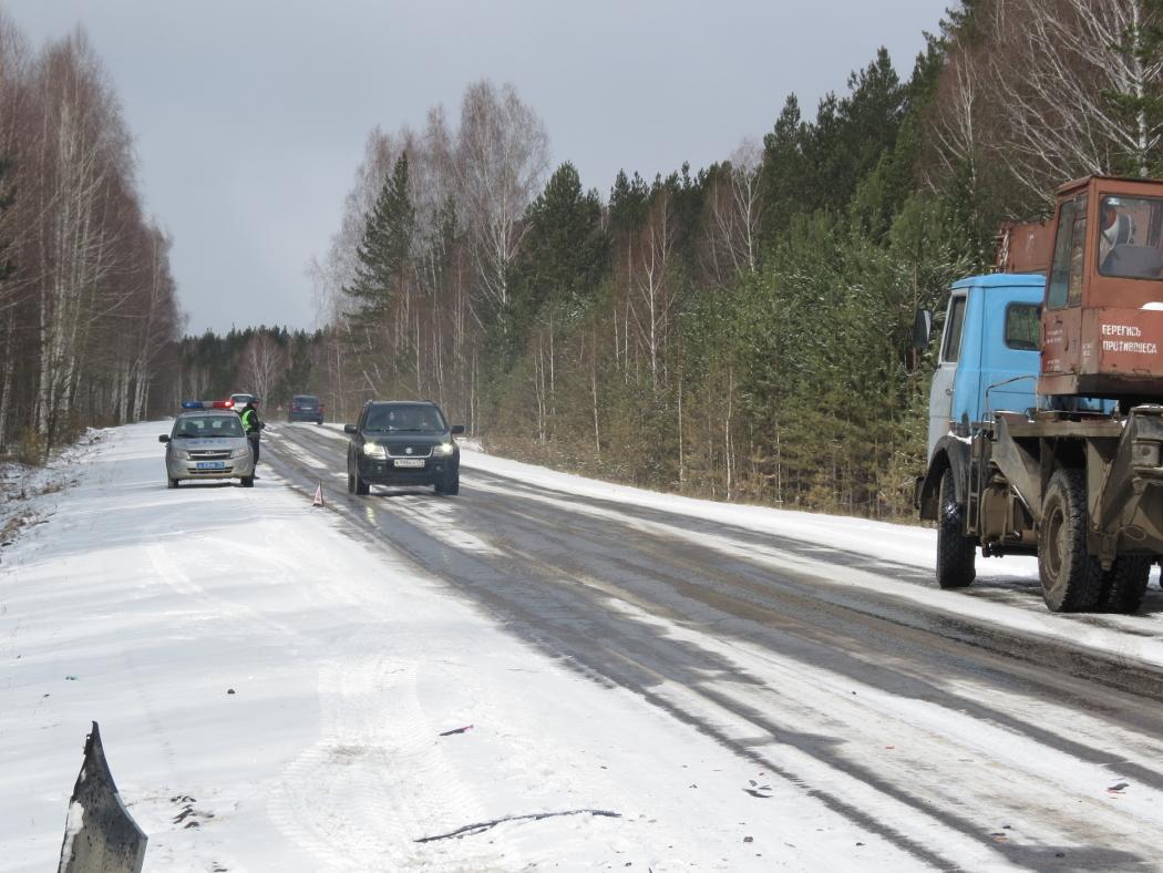 В Челябинской области в лобовом ДТП погибла женщина