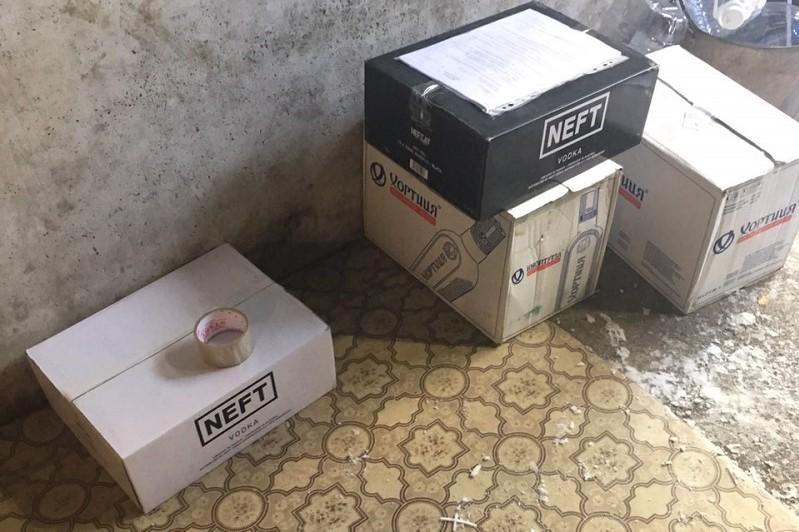 В Кыштыме задержали иностранца с поддельным алкоголем на 600 тысяч