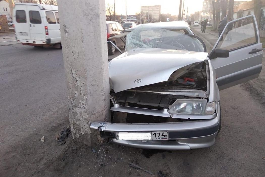 В Магнитогорске водитель ВАЗа погиб в ДТП, не уступив дорогу1