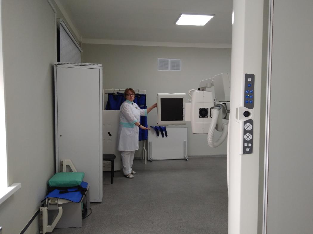 В челябинской ОКБ № 3 появился новый рентгенодиагностический комплекс