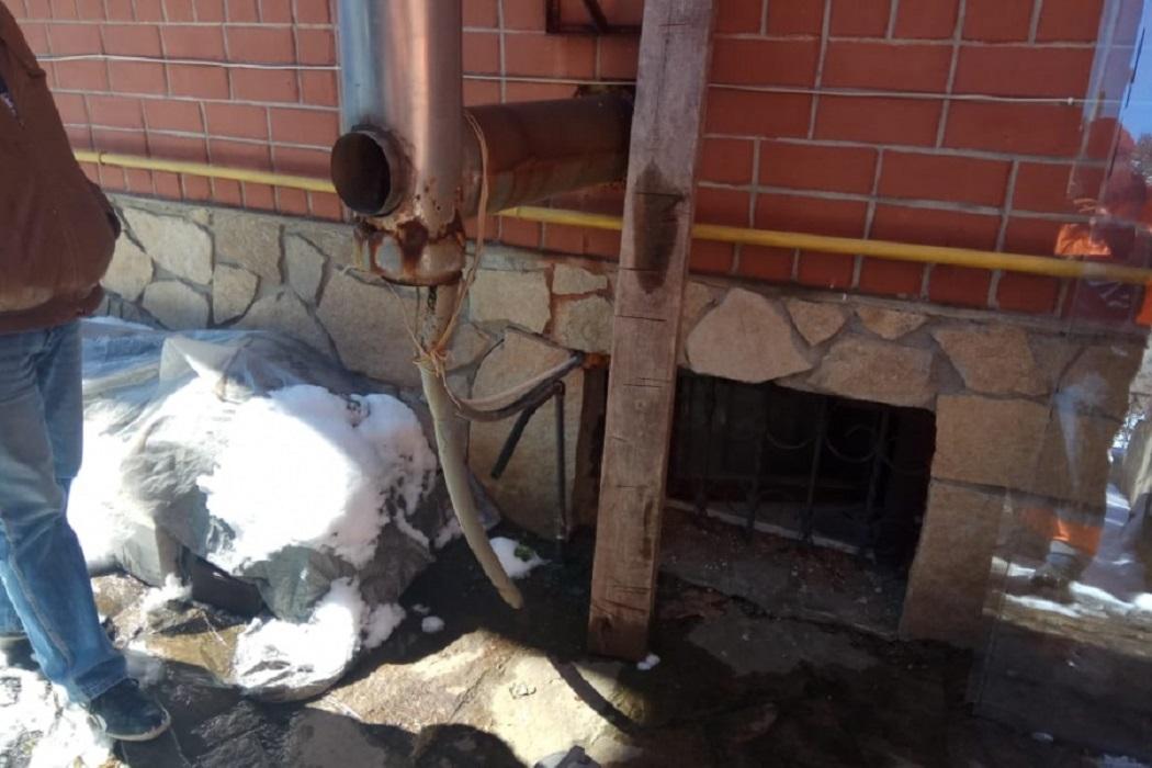 обнаружили неисправность газового оборудования