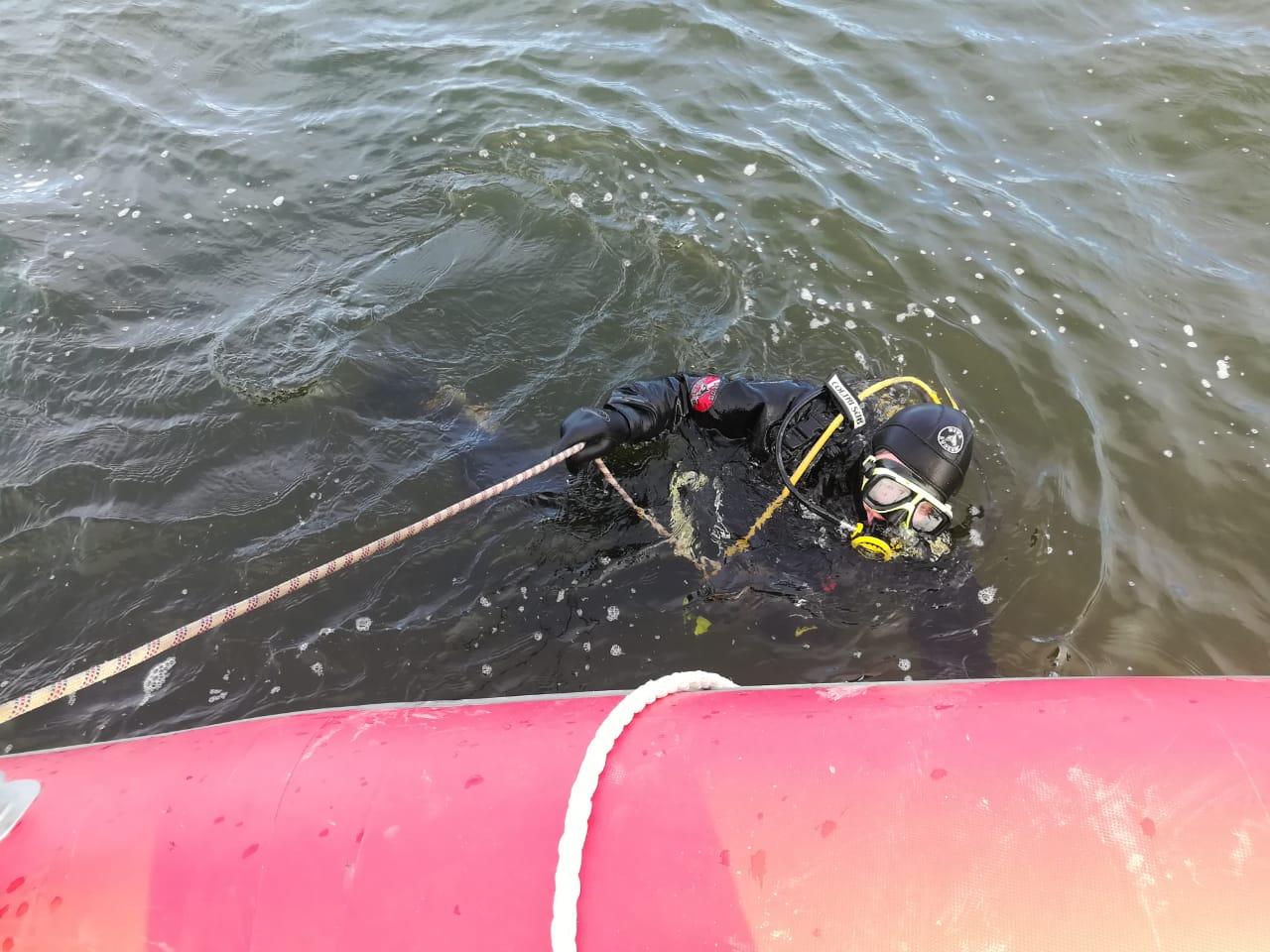 завершились поиски утонувшего мужчины