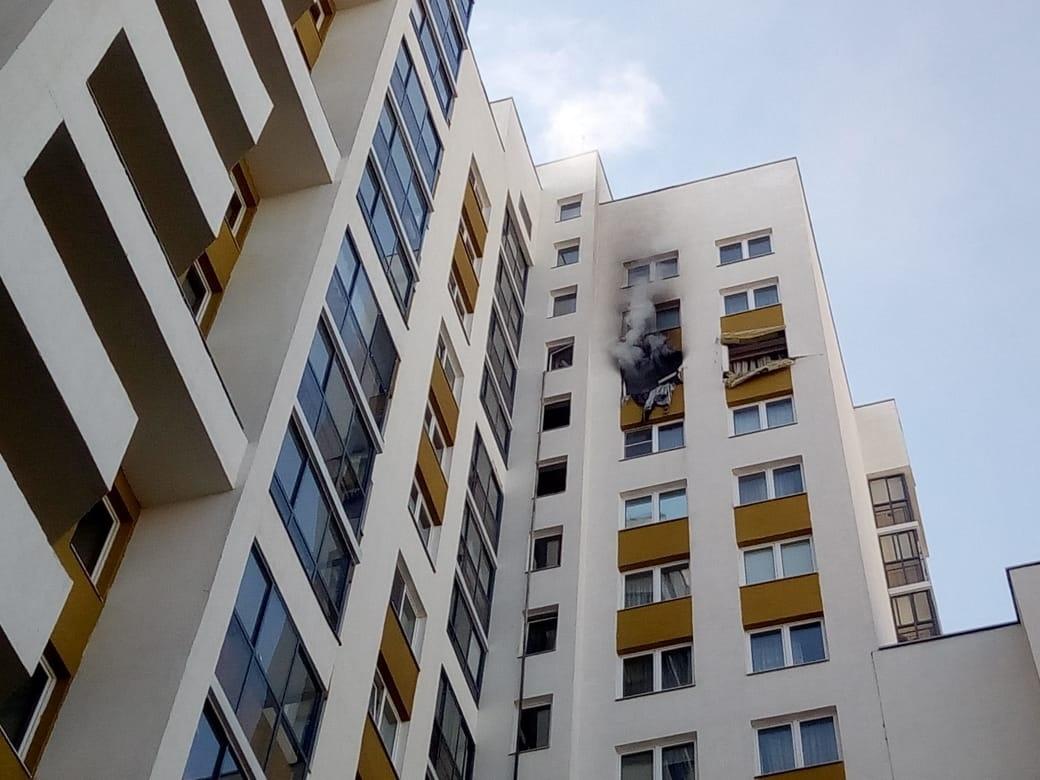 пожар в 17 этажном доме