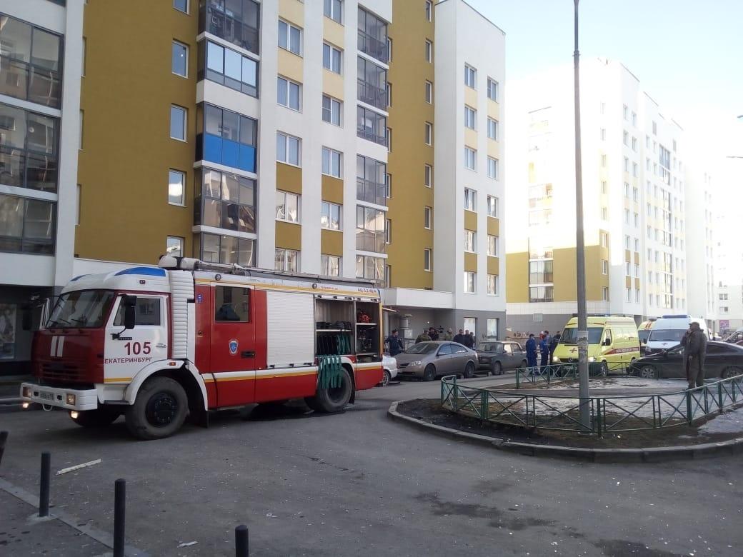 пожар в жилом доме