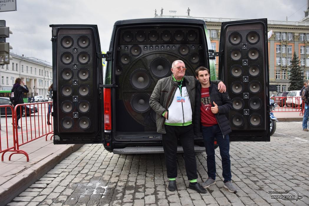 В Екатеринбурге прошёл Фестиваль автозвука и автотюнинга