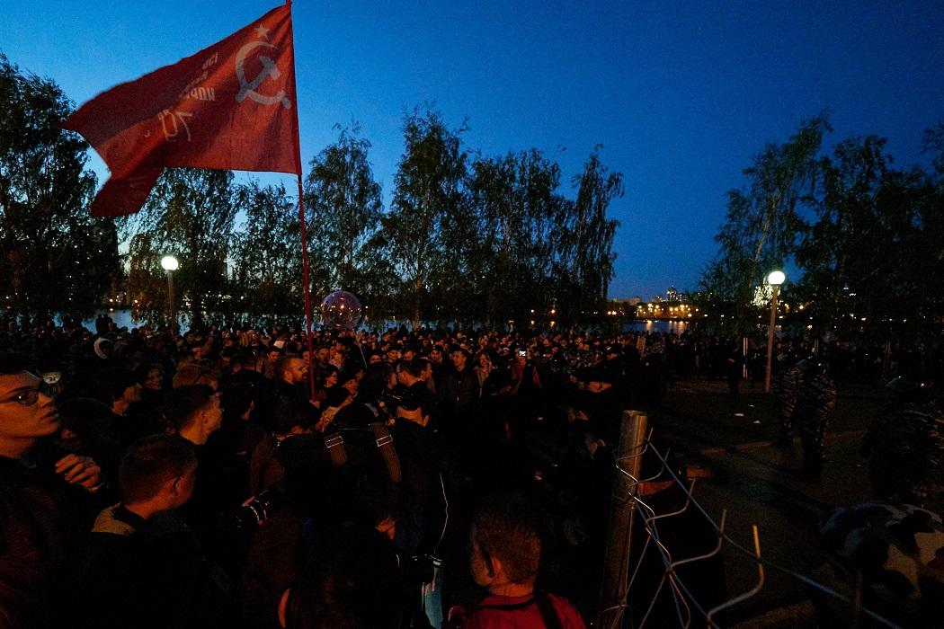 Екатеринбург выступает за референдум