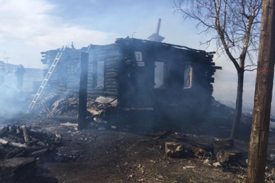 На Южном Урале две женщины и 2-летний ребенок погибли на пожаре