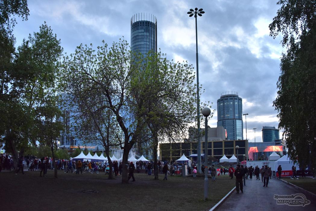 В Екатеринбурге были митинги, а будет — сквер согласия