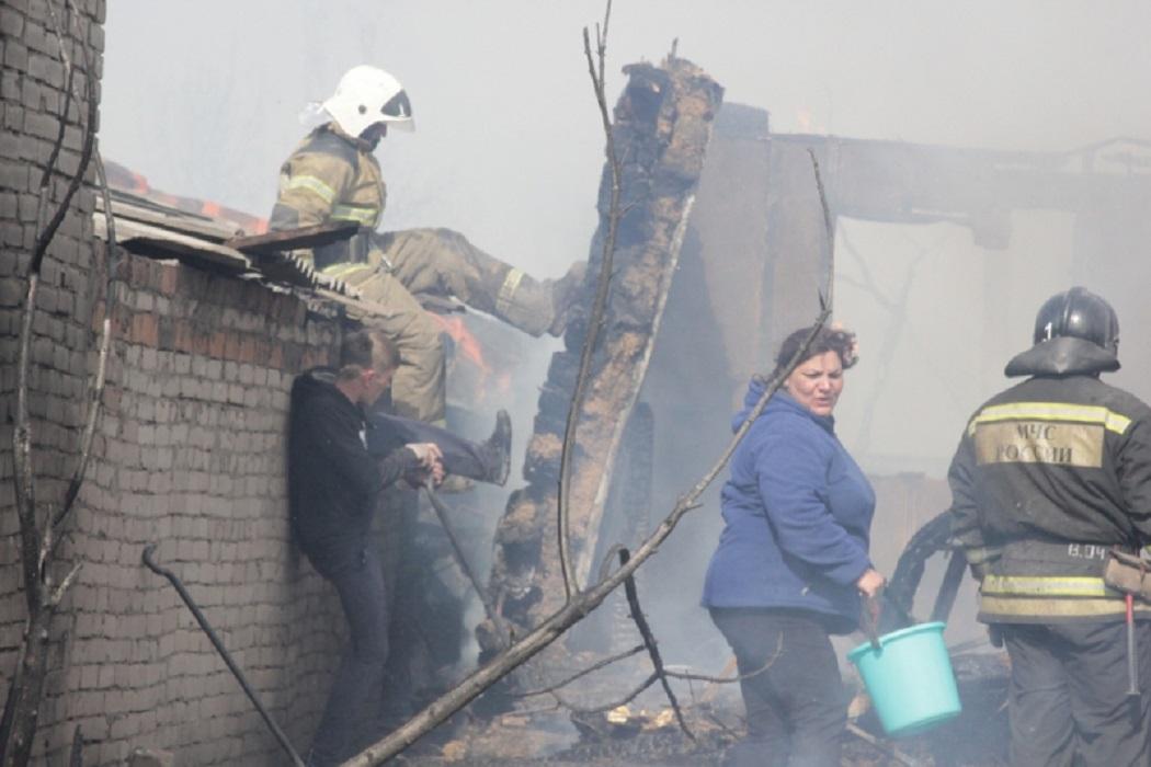 Смолино 4 мая 2019 Пожар