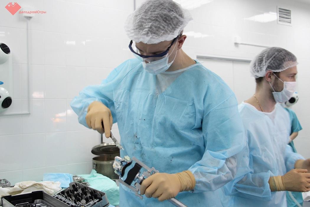 эндоскопирование + хирург + операция