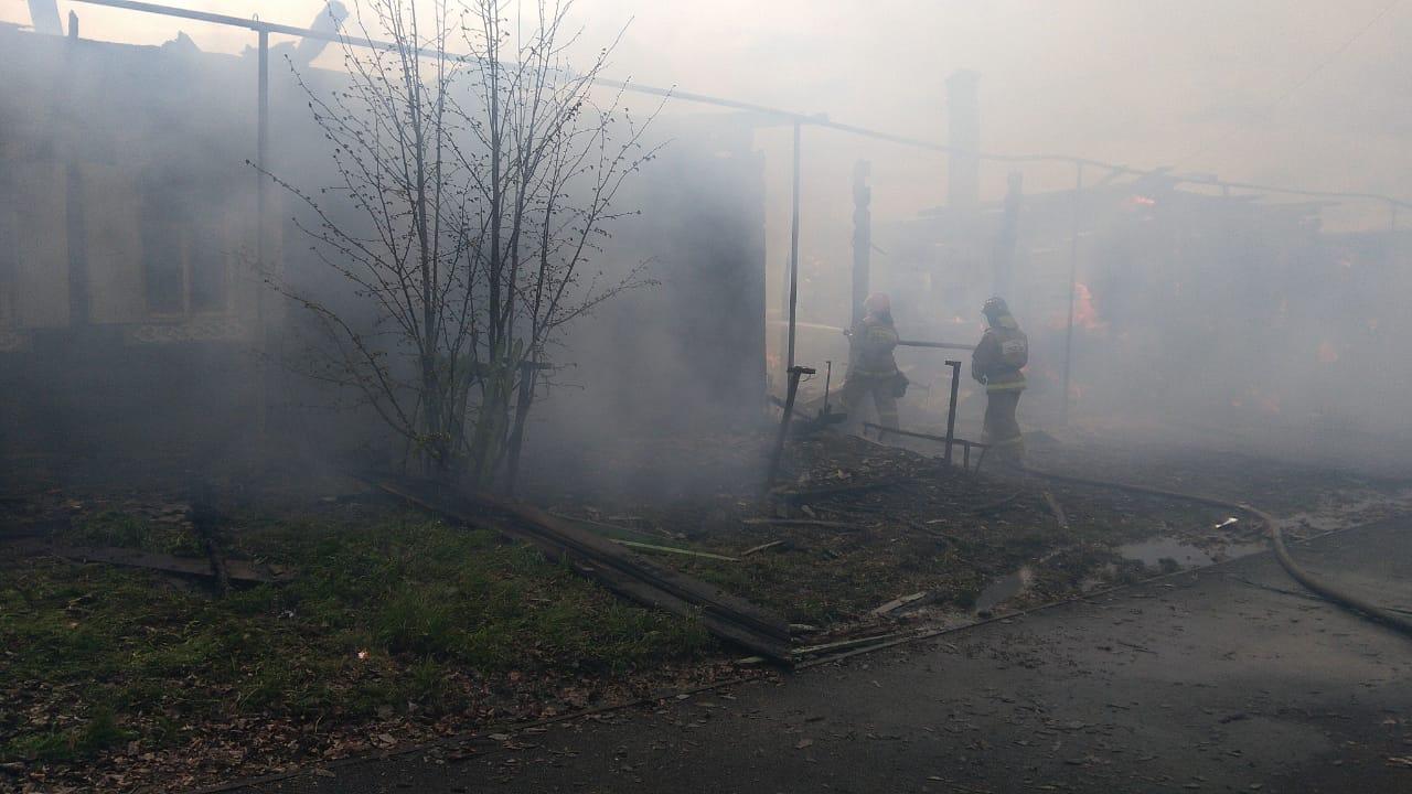 пожар в Нижней Салде
