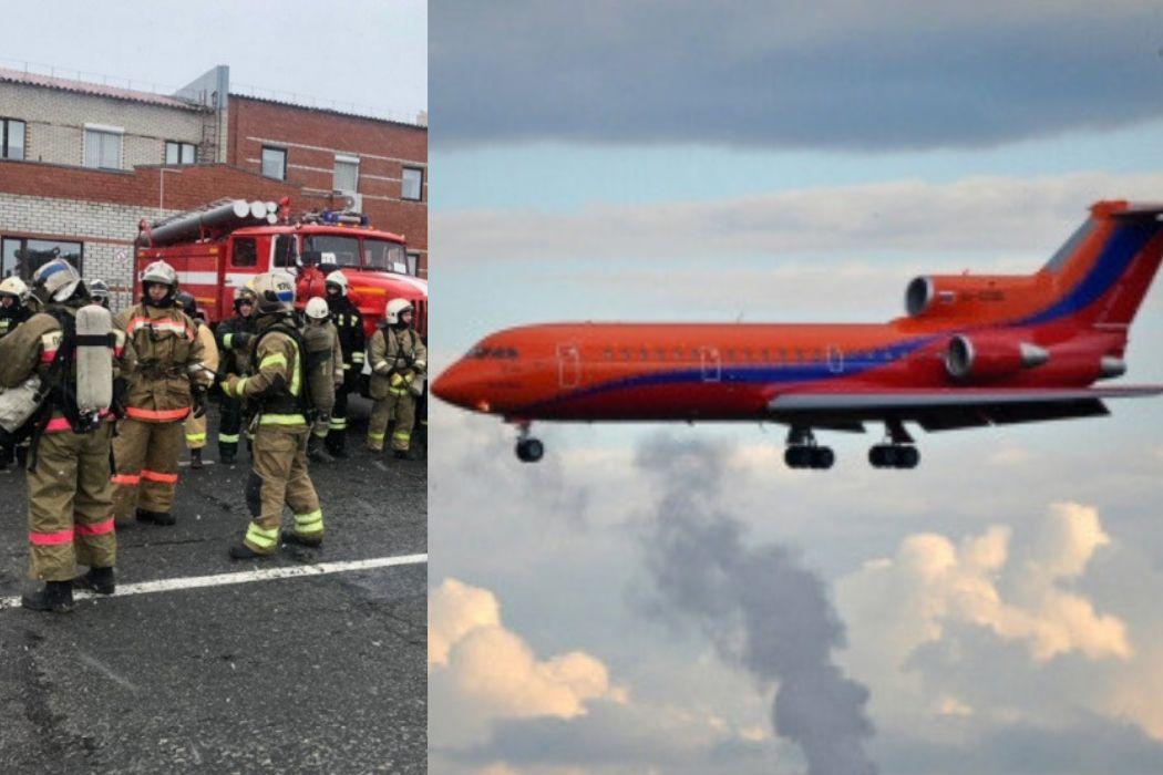В аэропорт Нового Уренгоя экстренно вернулся ЯК-42 из-за проблем с шасси