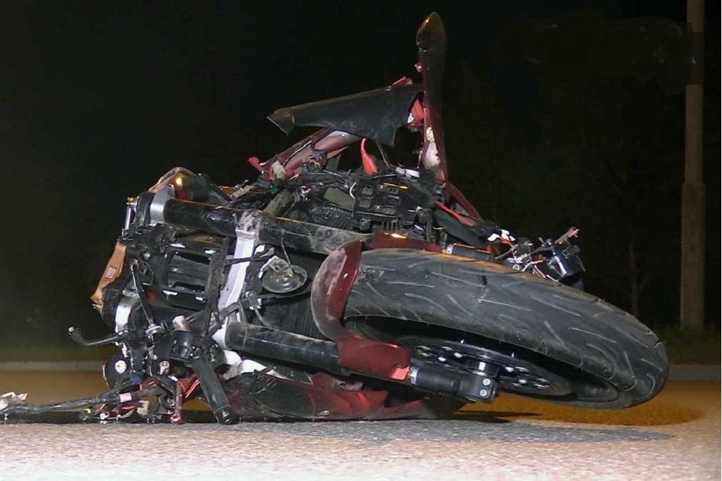 сбил мотоциклиста