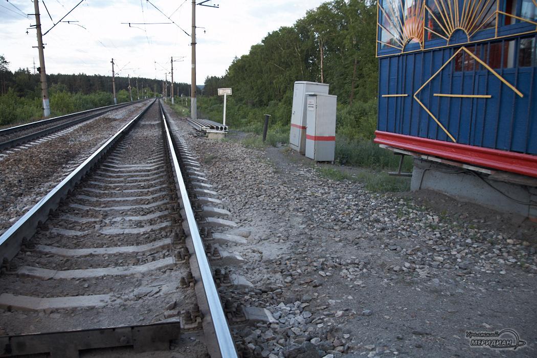Рельсы железная дорога ж/д