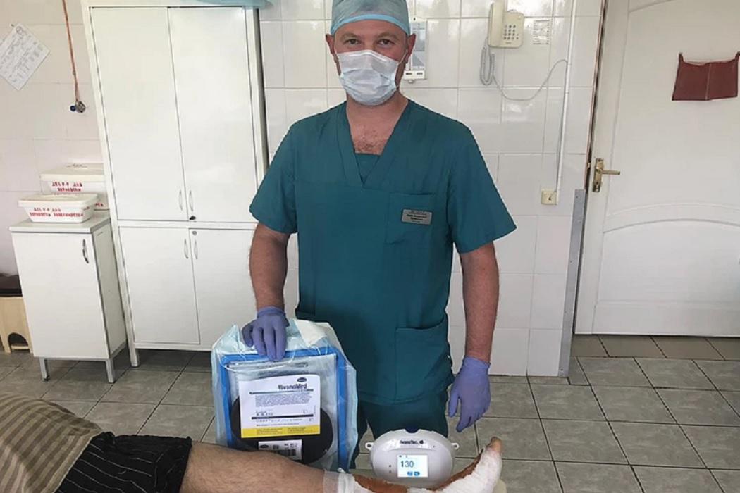 В Екатеринбурге тяжелых пациентов спасают с помощью вакуумной терапии
