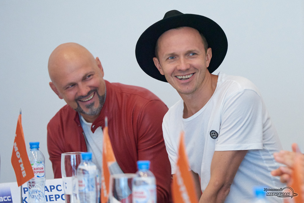 Ренарс Кауперс – гр. «Brainstorm», Латвия пресс-конференция в Кольцово