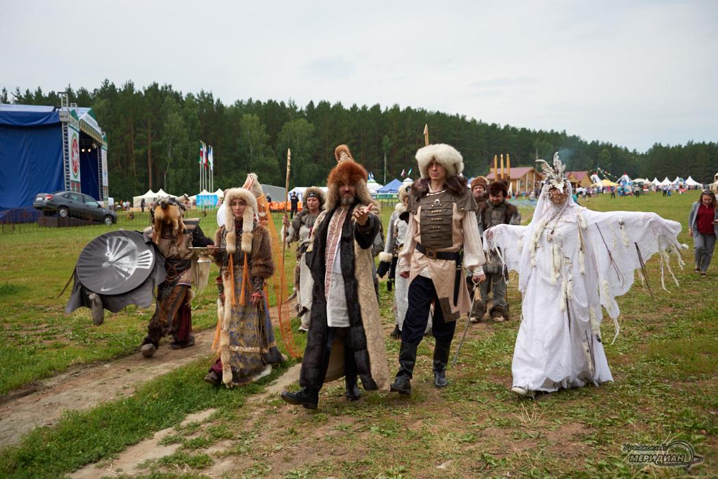 В Свердловской области с размахом отметили Сабантуй