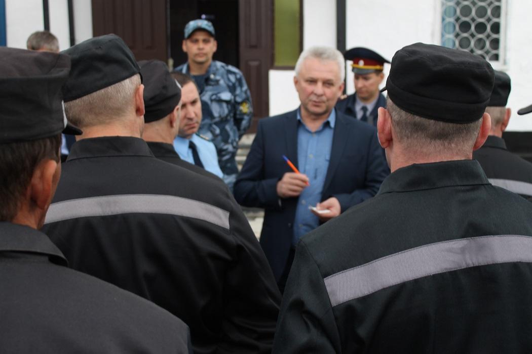 В Красноуфимске осужденных обучат новым профессиям
