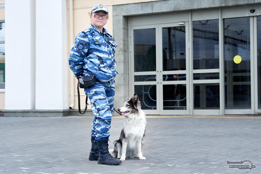 «Собаки-как дети»: о работе кинологов на станции Екатеринбург-Пассажирский