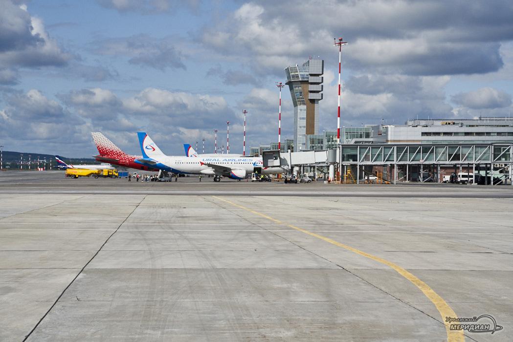 Аэропорт Кольцово Самолеты терминал