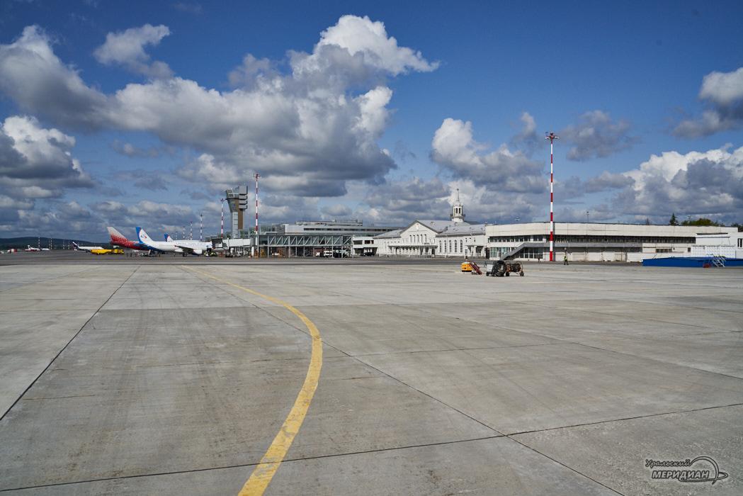 Аэропорт Кольцово взлетная полоса