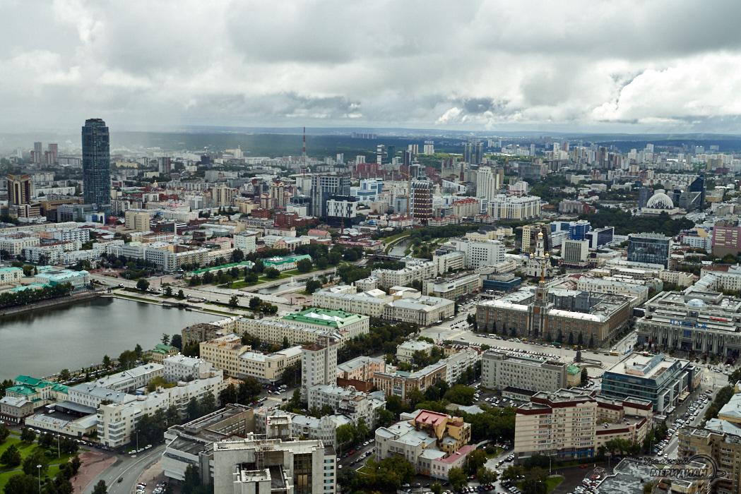 Екатеринбург панорама