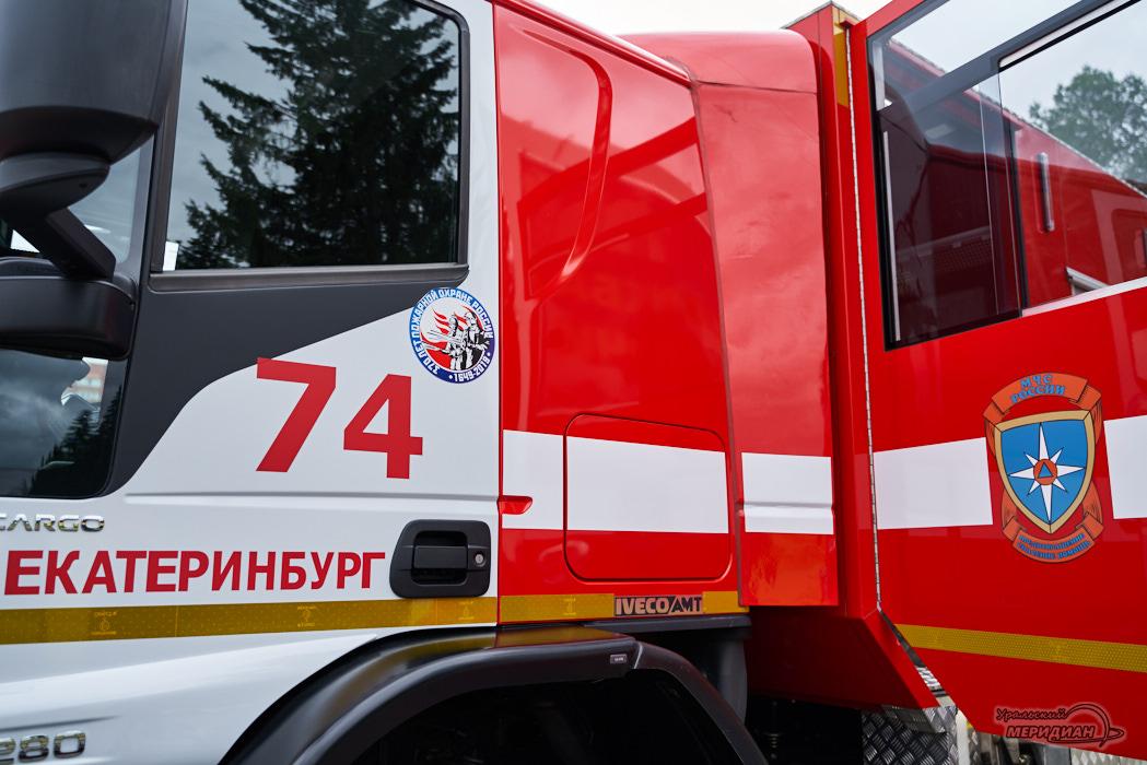 Пожарная машина МЧС
