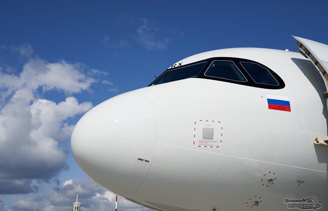 Самолет кабина