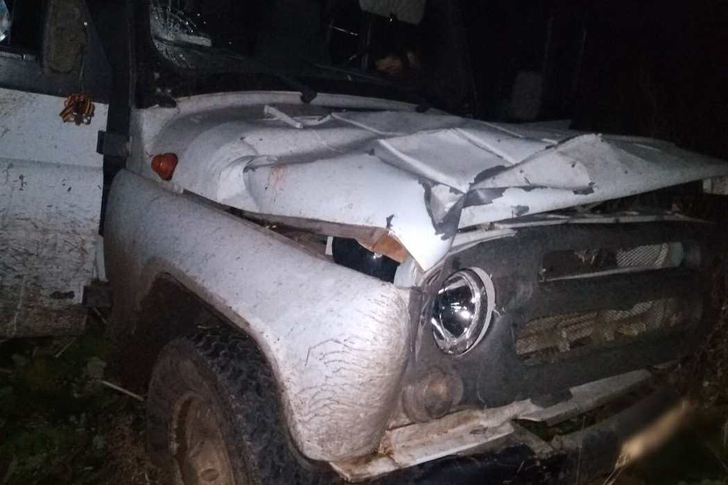 В Зауралье водитель УАЗа сбил насмерть пешехода и скрылся