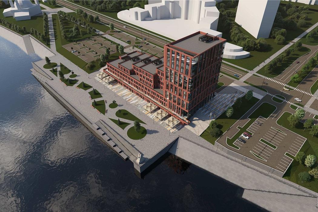 Набережную Нижневартовска украсит деловой центр известного архбюро