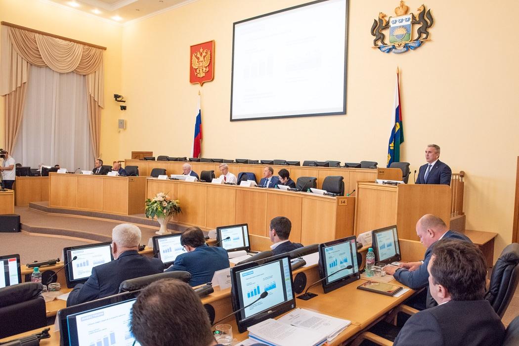 Закон о налоговых льготах в Тюменской области обсудят депутаты облдумы