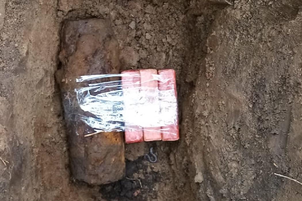 В Нижнем Тагиле сотрудники ОМОН обезвредили снаряд времен Второй мировой 1