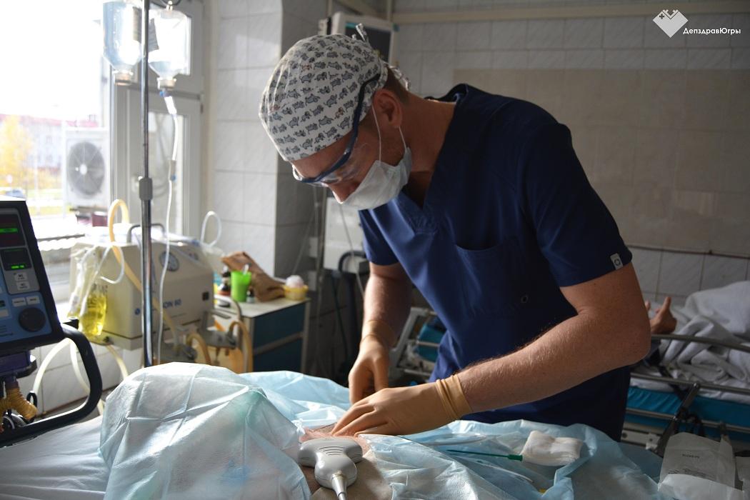 Нижневартовские врачи теперь не проводят катетеризацию вен «на ощупь»
