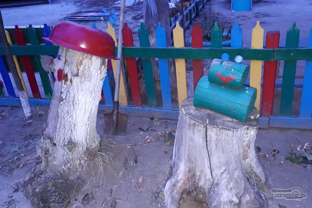 Игровая площадка детского сада № 6
