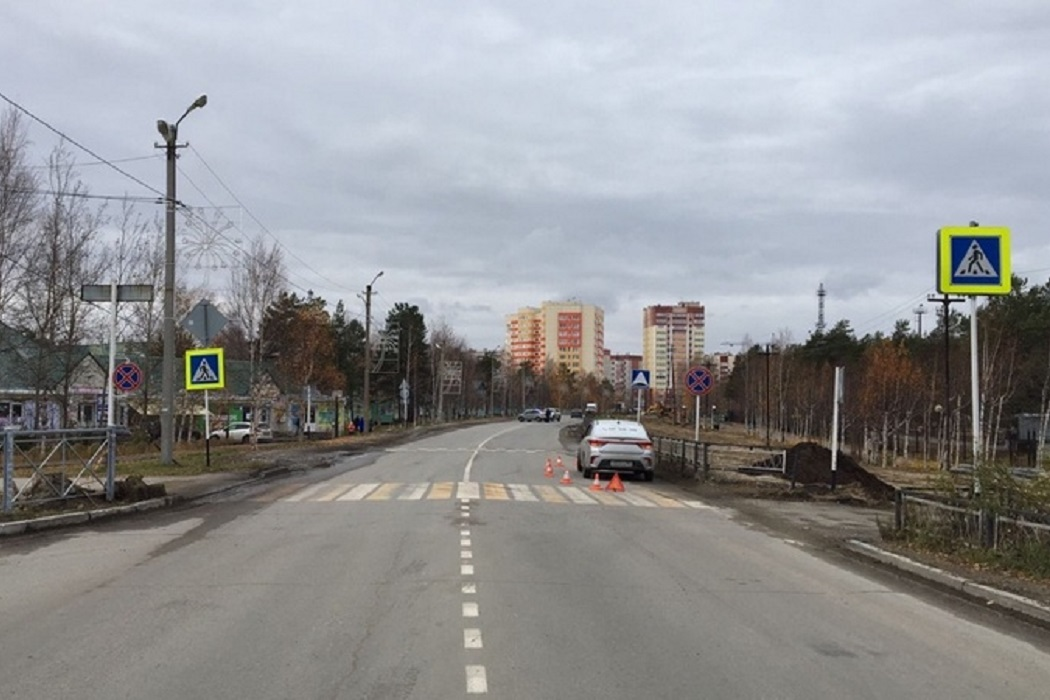 В Сургутском районе таксист сбил маленького мальчика