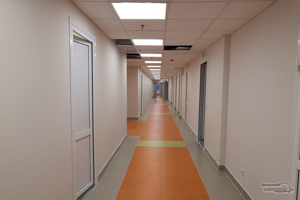 коридор поликлиника больница