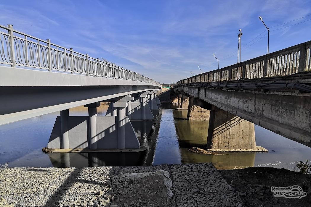 новый и старый мосты в Красноуфимске
