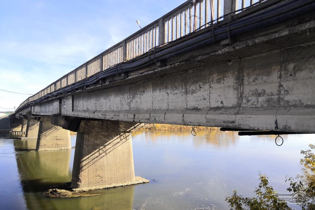 старый мост в Красноуфимске
