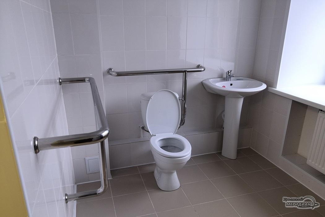 туалет для МГН