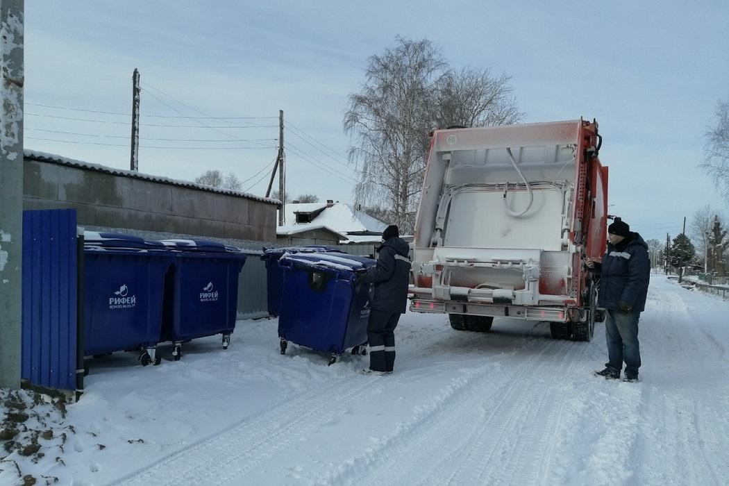 В Сосьве отказались от сбора твёрдых коммунальных отходов в мешках