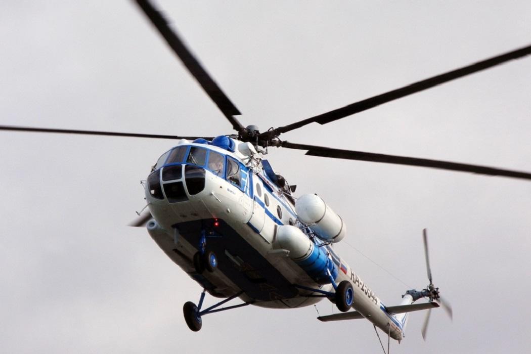 Для перевозки людей между Салехардом и Лабытнанги начал летать вертолёт